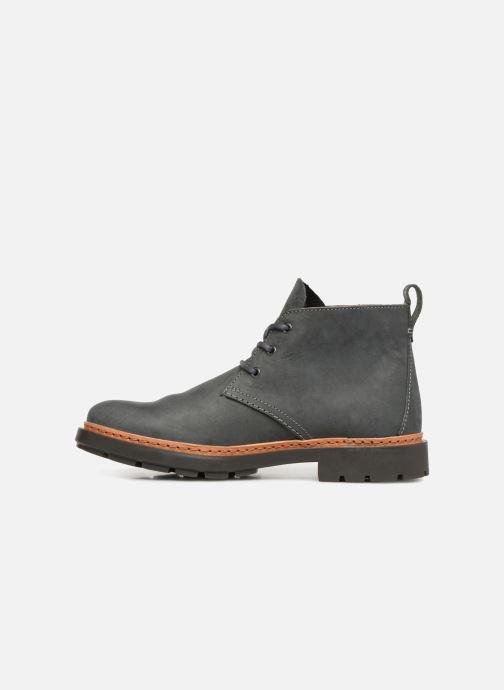 Bottines et boots Clarks Trace Flare Gris vue face