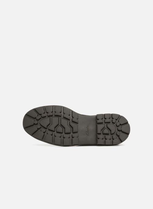 Stiefeletten & Boots Clarks Trace Flare grau ansicht von oben