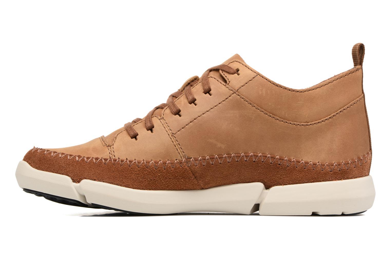 Sneakers Clarks Trifri Hi Bruin voorkant