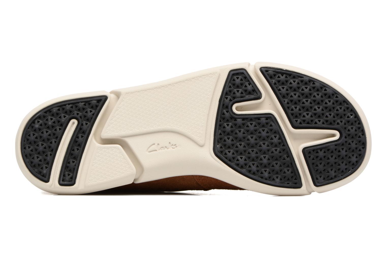 Sneakers Clarks Trifri Hi Bruin boven