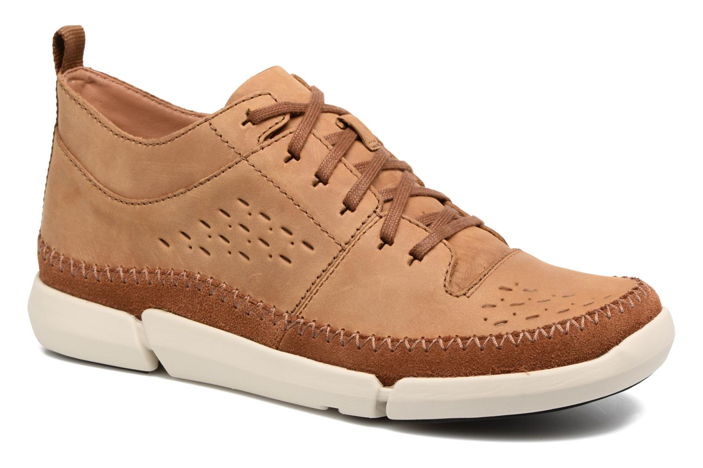 Sneakers Clarks Trifri Hi Bruin detail