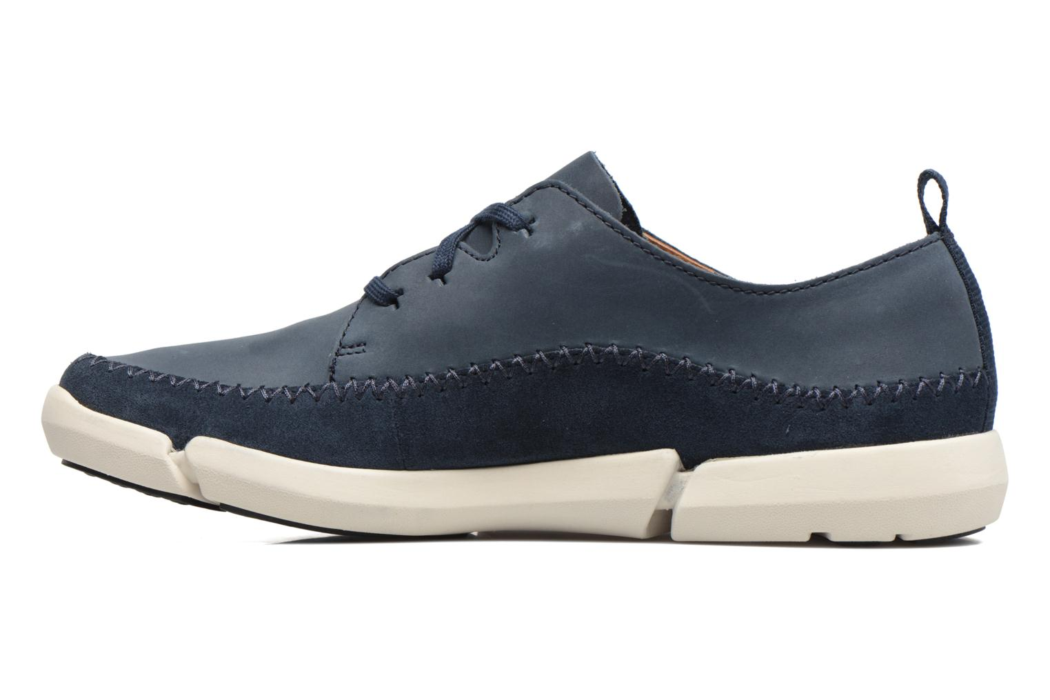 Sneakers Clarks Trifri Lace Blauw voorkant