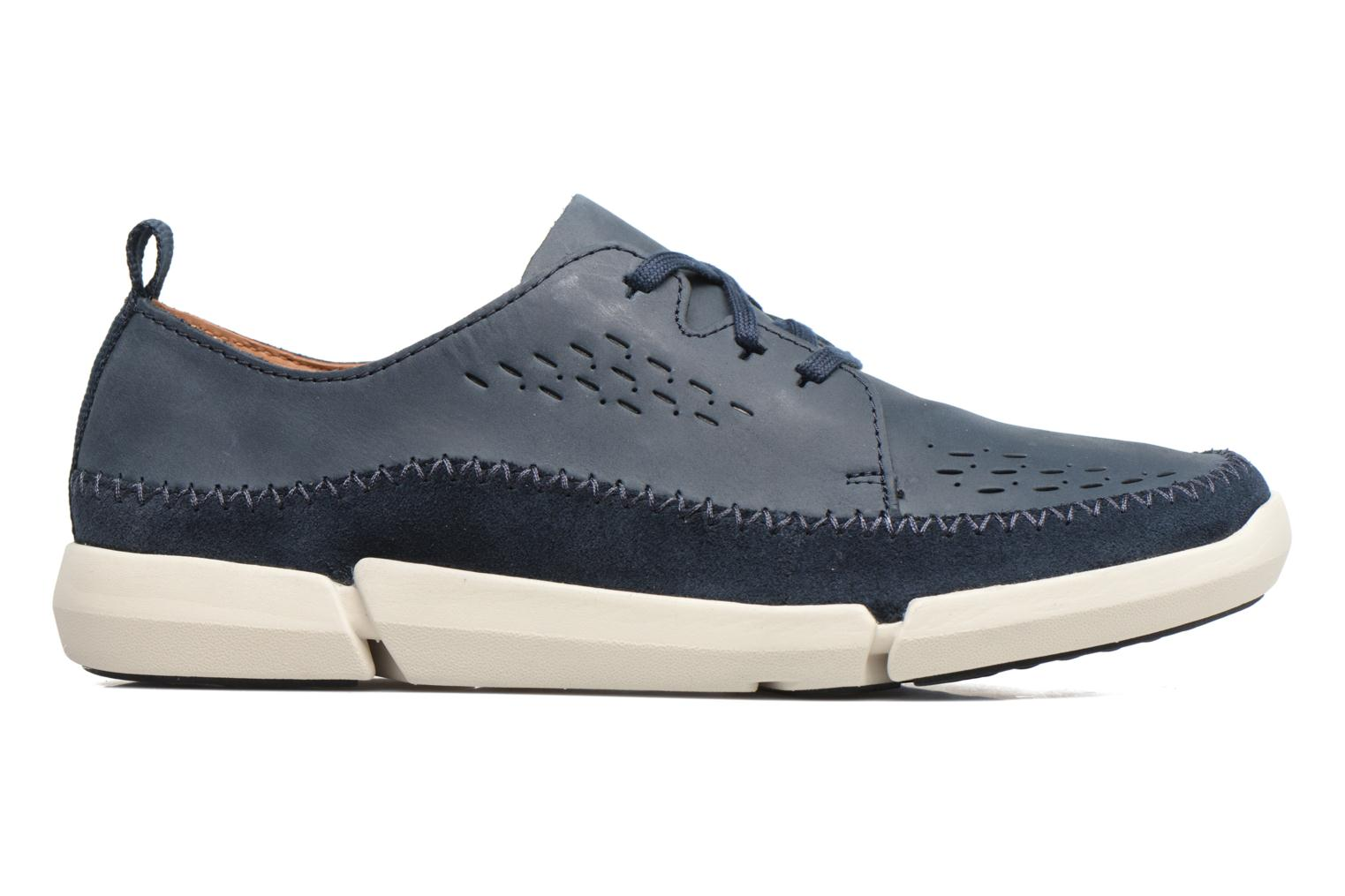 Sneakers Clarks Trifri Lace Blauw achterkant