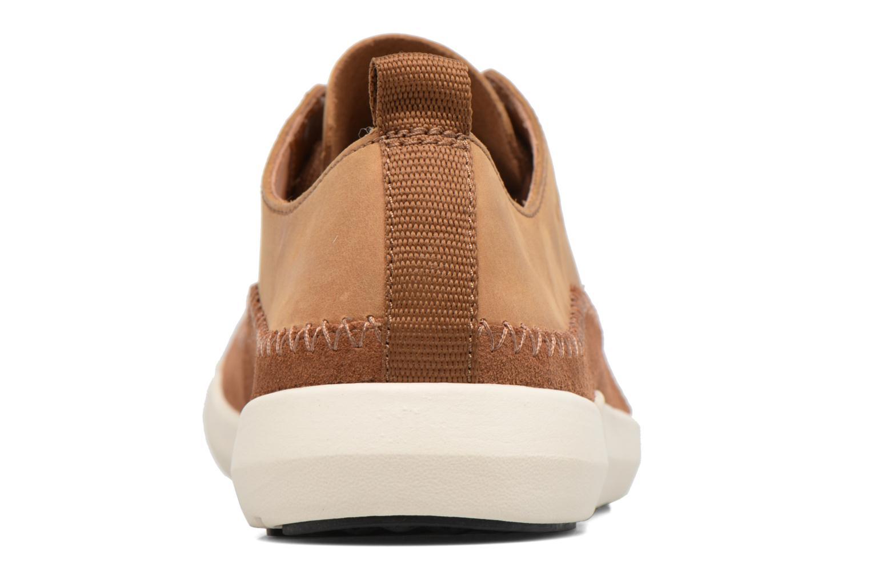 Sneakers Clarks Trifri Lace Bruin rechts