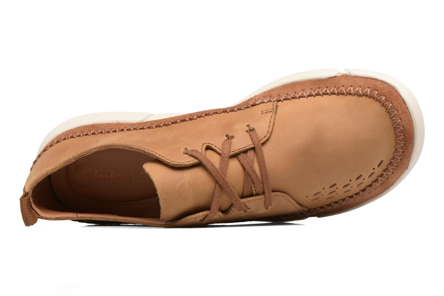 Baskets Clarks Trifri Lace Marron vue gauche