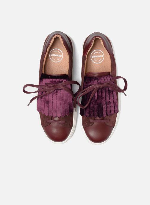Baskets Made by SARENZA Partygloo #5 Bordeaux vue portées chaussures