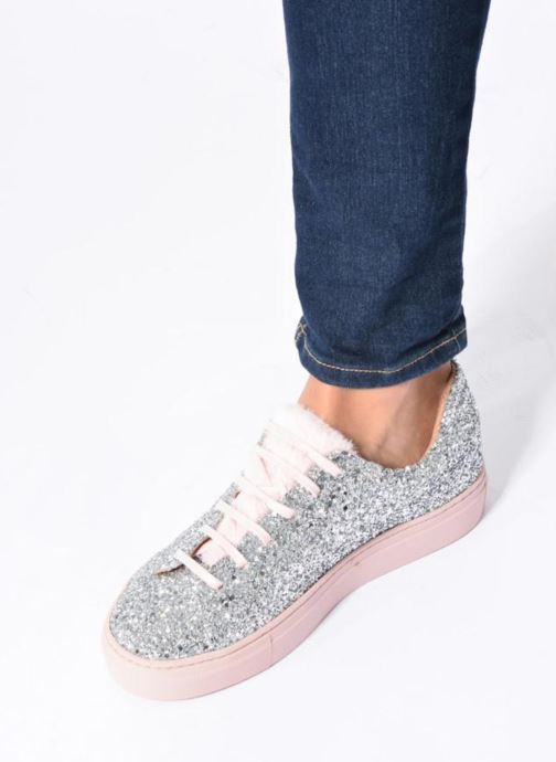 Sneakers Made by SARENZA Funtastic Chick #3 Argento immagine dal basso