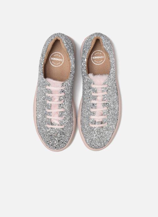 Sneakers Made by SARENZA Funtastic Chick #3 Argento modello indossato