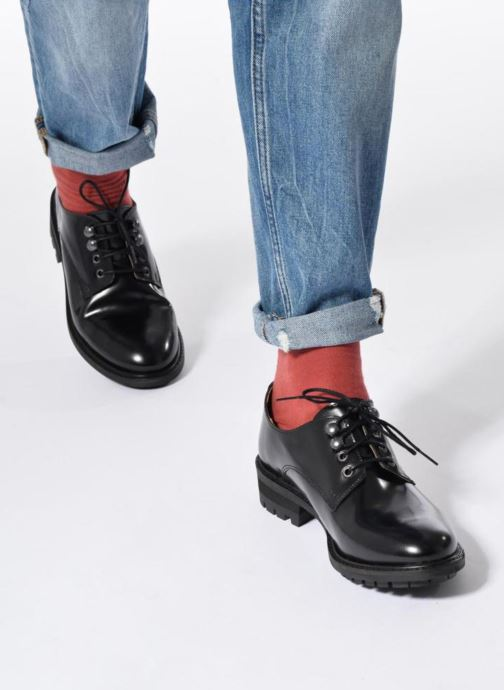 Zapatos con cordones Made by SARENZA Winter Ski #14 Negro vista de abajo