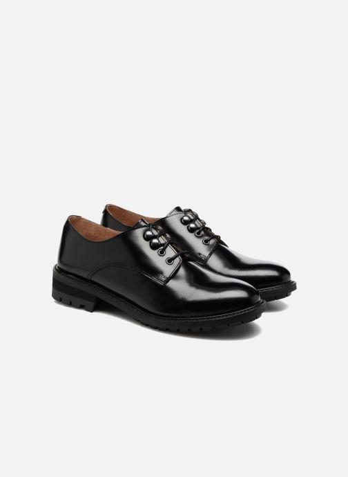 Zapatos con cordones Made by SARENZA Winter Ski #14 Negro vistra trasera