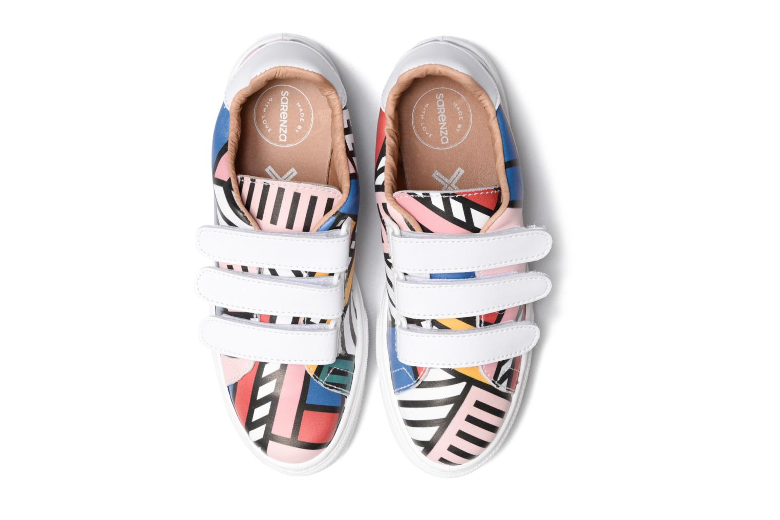 Baskets Made by SARENZA Made by Sarenza X Camille Walala Sneakers Multicolore vue droite