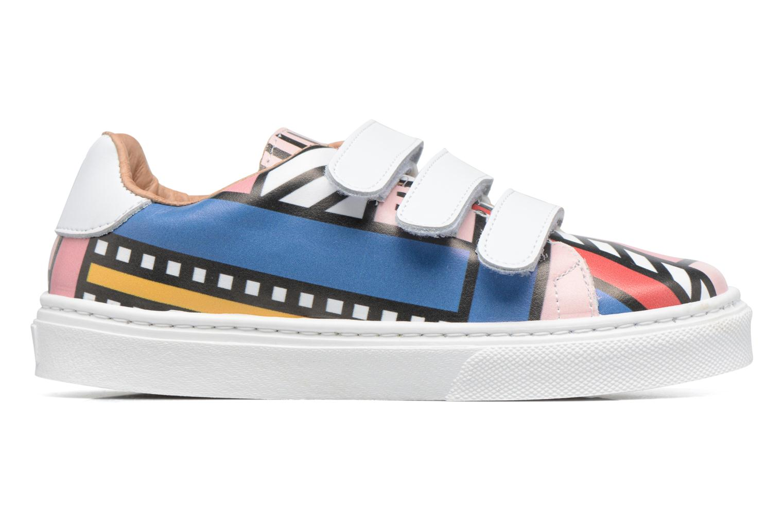 Baskets Made by SARENZA Made by Sarenza X Camille Walala Sneakers Multicolore vue détail/paire
