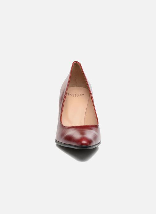 Escarpins Perlato Acosta Rouge vue portées chaussures