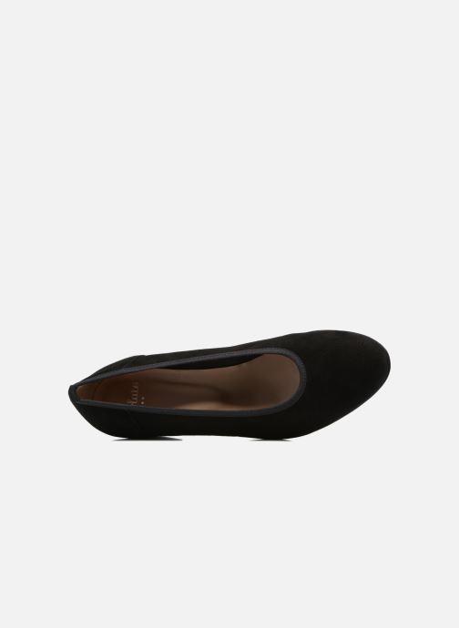 Zapatos de tacón Perlato 10366 Negro vista lateral izquierda