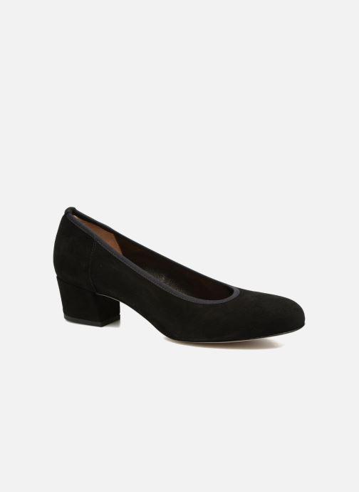 High heels Perlato 10366 Black detailed view/ Pair view
