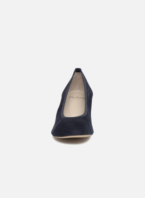 Zapatos de tacón Perlato 10366 Azul vista del modelo