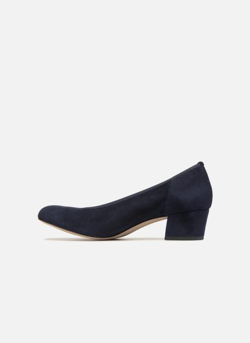Zapatos de tacón Perlato 10366 Azul vista de frente