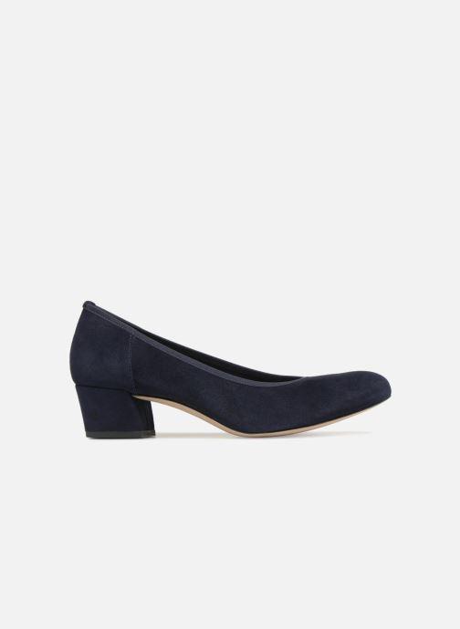 Zapatos de tacón Perlato 10366 Azul vistra trasera