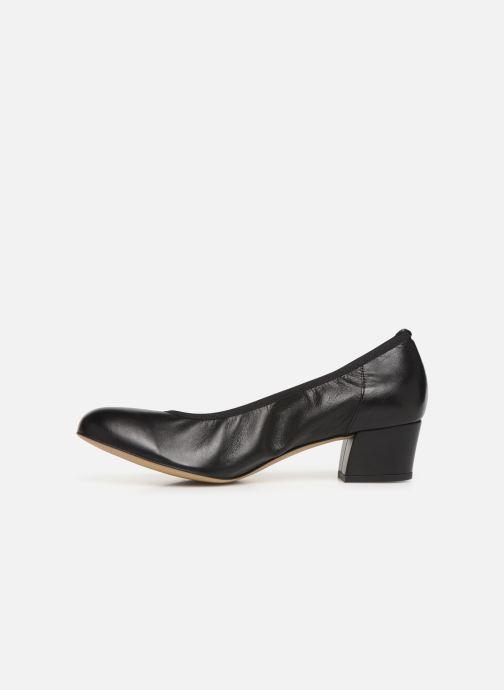 Zapatos de tacón Perlato 10366 Negro vista de frente
