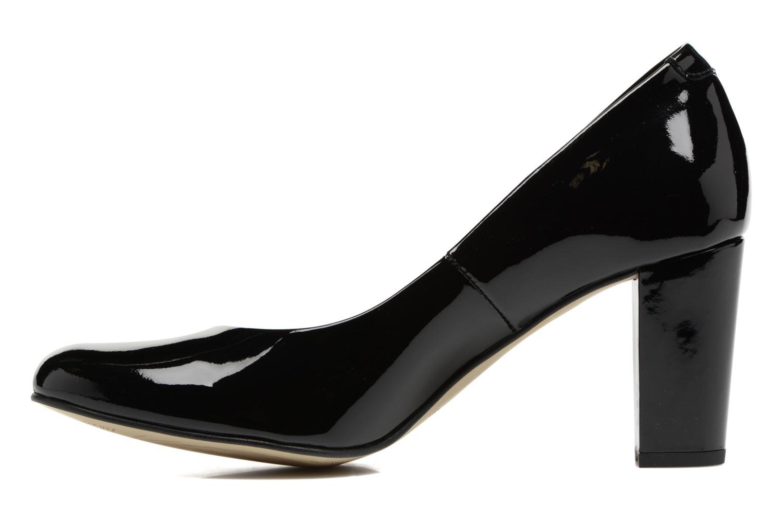 High heels Perlato Camilo Black front view