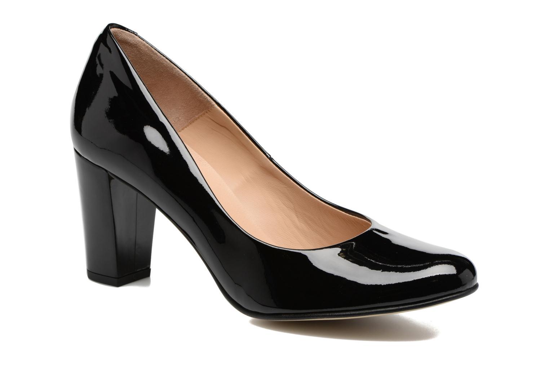 High heels Perlato Camilo Black detailed view/ Pair view