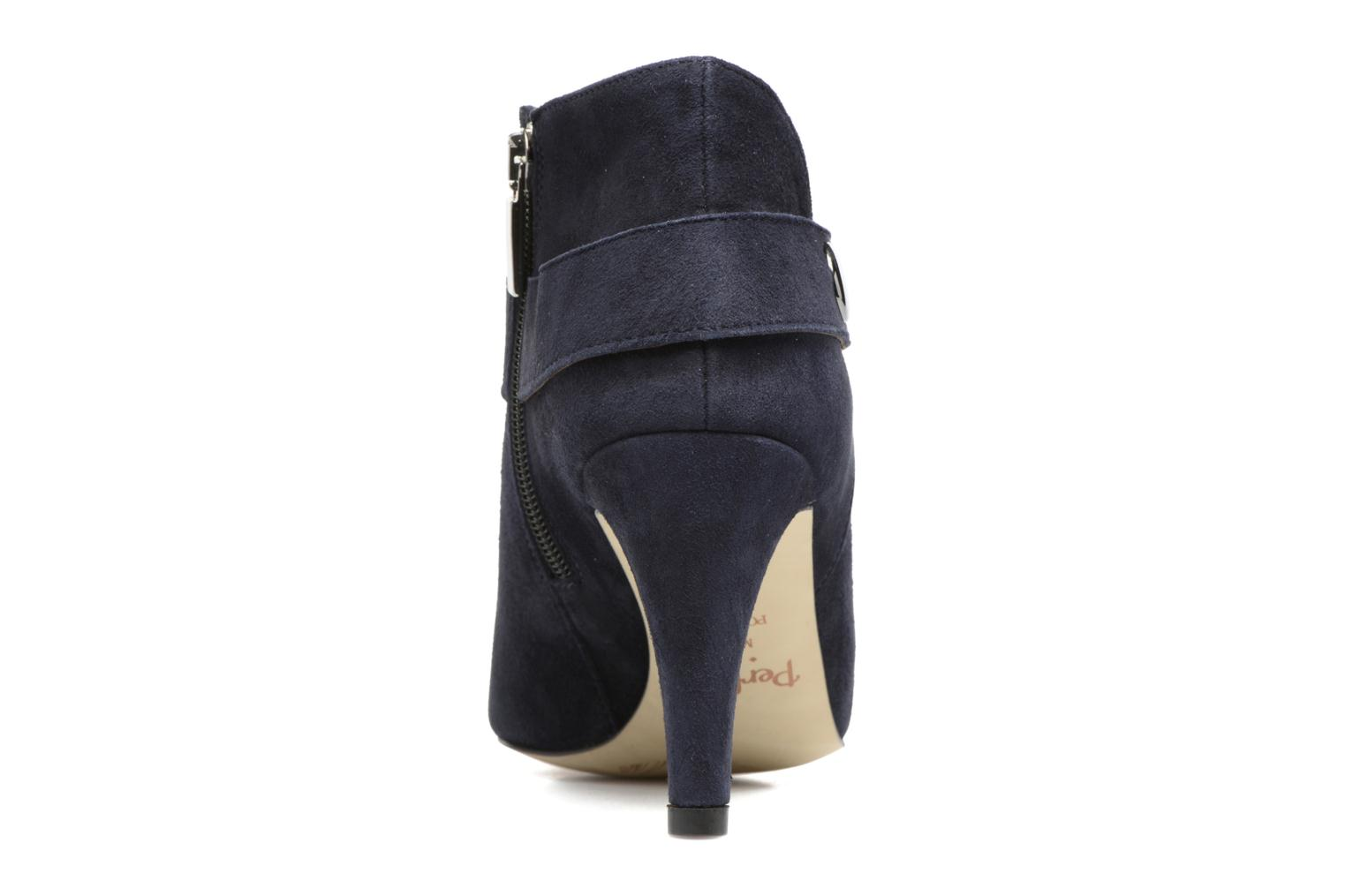 Ankle boots Perlato Edel Blue view from the right