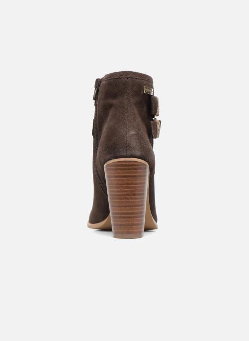 Bottines et boots Les Tropéziennes par M Belarbi Arius Marron vue droite