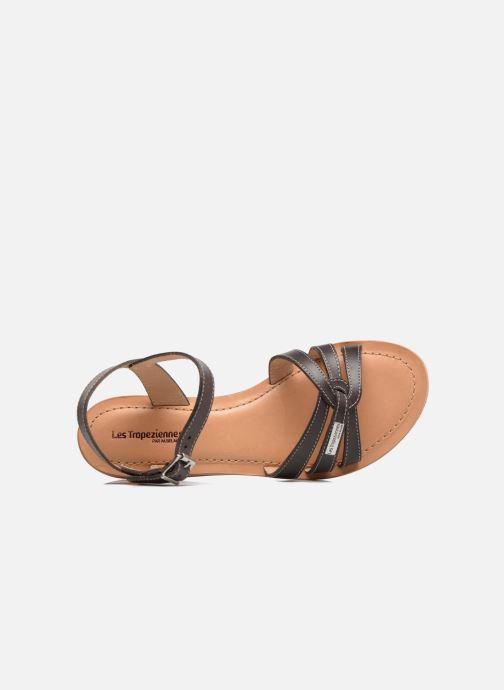 Sandales et nu-pieds Les Tropéziennes par M Belarbi Balisto Marron vue gauche