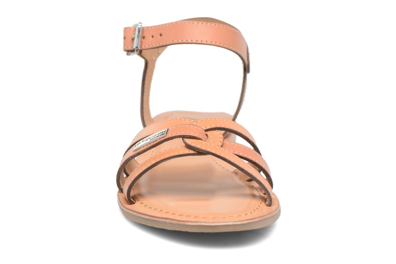 Sandales et nu-pieds Les Tropéziennes par M Belarbi Balisto Rose vue portées chaussures
