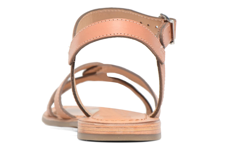 Sandales et nu-pieds Les Tropéziennes par M Belarbi Balisto Rose vue droite