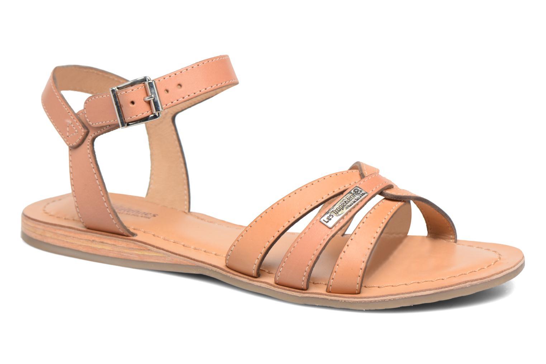 Sandales et nu-pieds Les Tropéziennes par M Belarbi Balisto Rose vue détail/paire