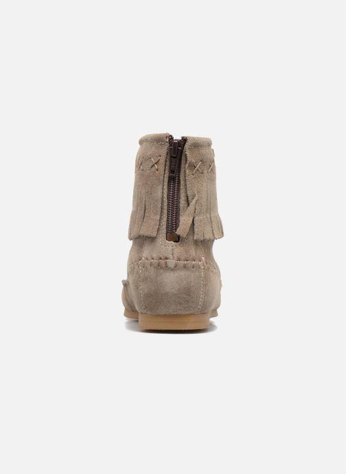 Bottines et boots Les Tropéziennes par M Belarbi Crabe J Beige vue droite