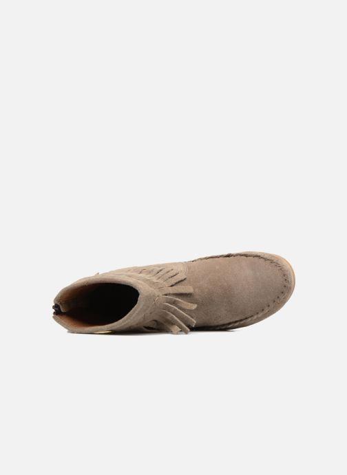 Bottines et boots Les Tropéziennes par M Belarbi Crabe J Beige vue gauche