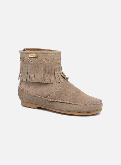 Bottines et boots Les Tropéziennes par M Belarbi Crabe J Beige vue détail/paire
