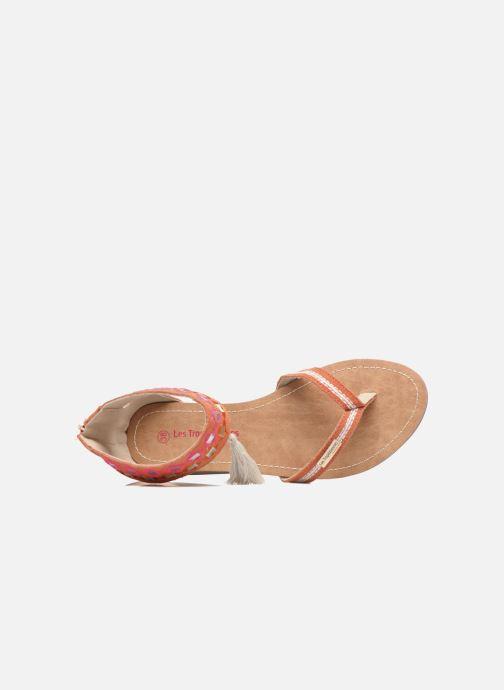 Sandales et nu-pieds Les Tropéziennes par M Belarbi Galactik W Orange vue gauche