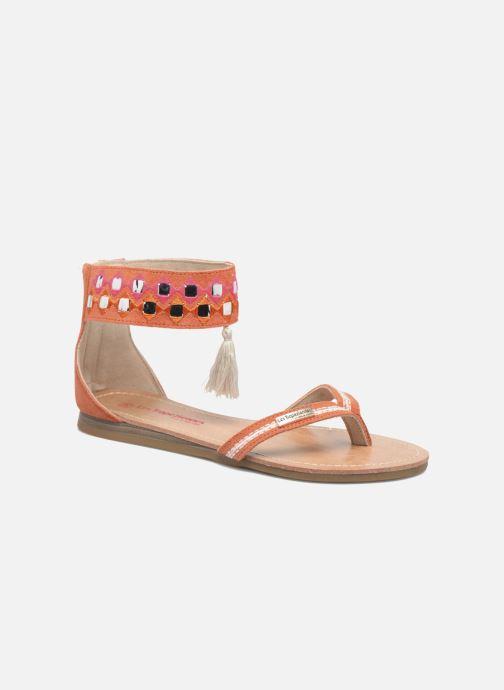 Sandales et nu-pieds Les Tropéziennes par M Belarbi Galactik W Orange vue détail/paire