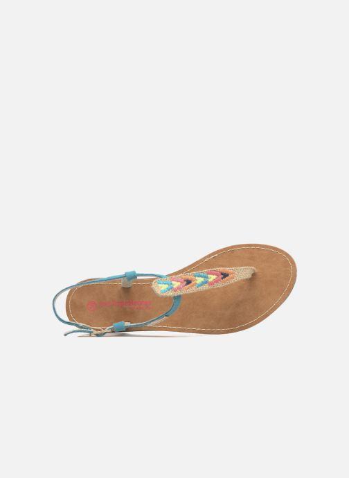 Et Belarbi Tropéziennes pieds M Par Nu Geronima Les Sandales Turquoise wkiZTPuOX