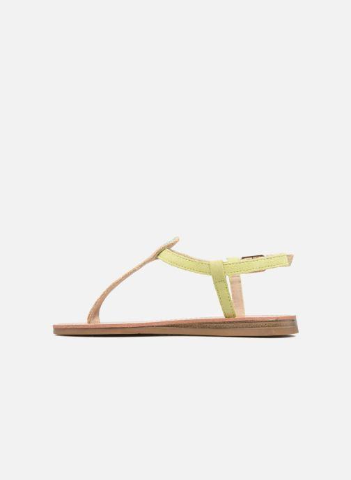 Sandales et nu-pieds Les Tropéziennes par M Belarbi Geronima Jaune vue face