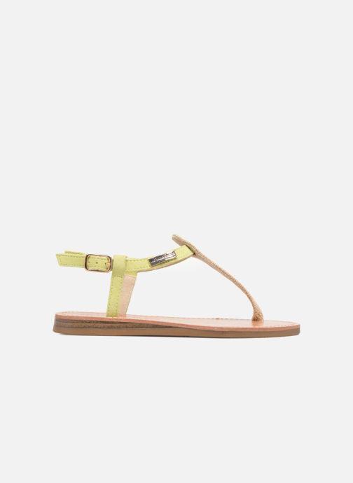 Sandales et nu-pieds Les Tropéziennes par M Belarbi Geronima Jaune vue derrière