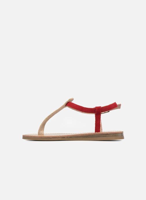 Sandales et nu-pieds Les Tropéziennes par M Belarbi Geronima Rouge vue face