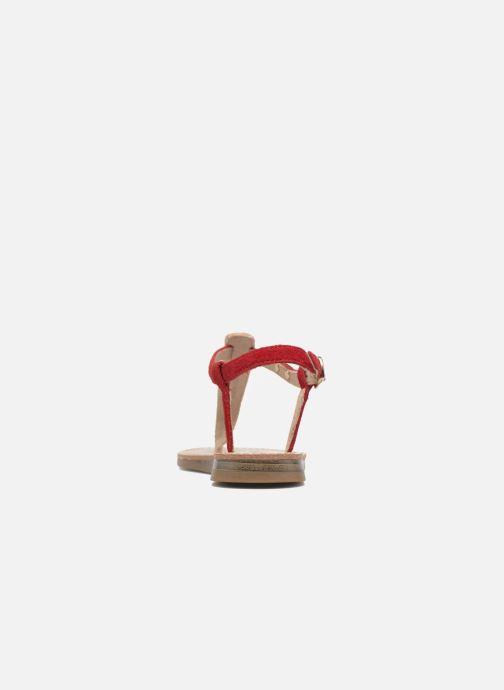 Sandali e scarpe aperte Les Tropéziennes par M Belarbi Geronima Rosso immagine destra