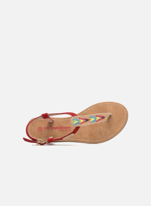 Sandali e scarpe aperte Les Tropéziennes par M Belarbi Geronima Rosso immagine sinistra