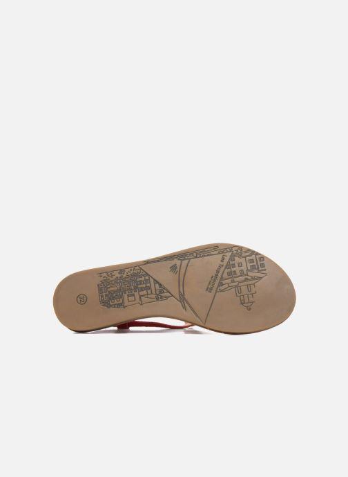 Sandali e scarpe aperte Les Tropéziennes par M Belarbi Geronima Rosso immagine dall'alto