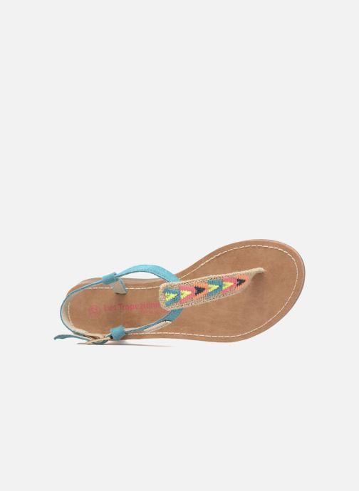 fb0686063 Sandals Les Tropéziennes par M Belarbi Geronima Blue view from the left