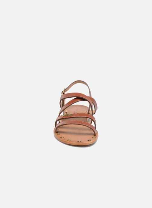 Sandali e scarpe aperte Les Tropéziennes par M Belarbi Helios Marrone modello indossato