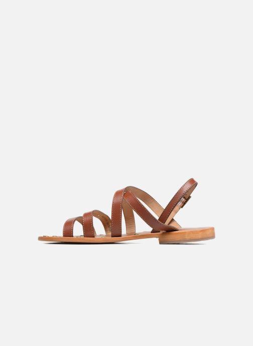 Sandali e scarpe aperte Les Tropéziennes par M Belarbi Helios Marrone immagine frontale