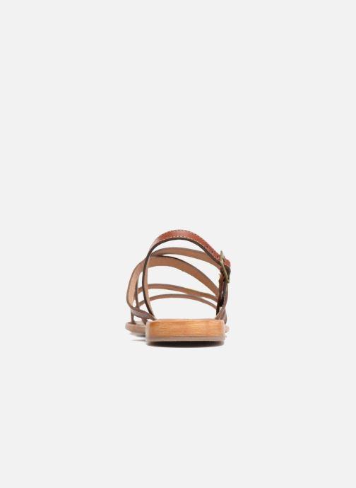 Sandali e scarpe aperte Les Tropéziennes par M Belarbi Helios Marrone immagine destra