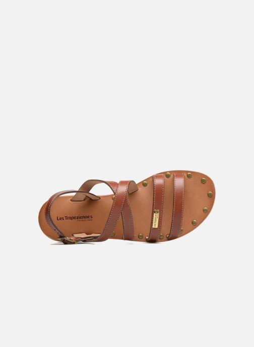 Sandali e scarpe aperte Les Tropéziennes par M Belarbi Helios Marrone immagine sinistra