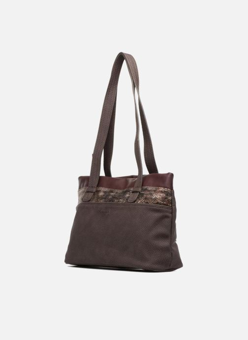 Borse Tamaris KHEMA Shoulder bag Marrone modello indossato
