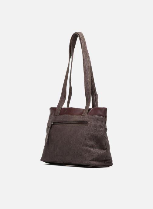 Handtassen Tamaris KHEMA Shoulder bag Bruin rechts